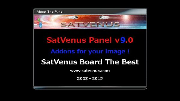 SatVenus Panel - Our Dreambox World - Japhar Sim Forum - http://www
