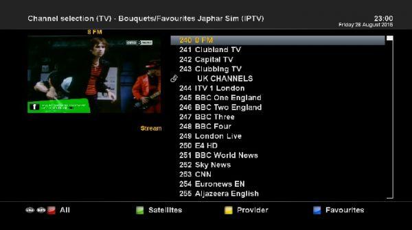 OpenPLi 4 0 : How Update FTA IPTV Japhar Chan List - Our Dreambox